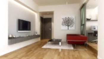 Simple et moderne petit espace salon mod¨¨le 3D Model ...