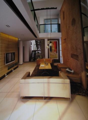 Les teintes sombres de style minimaliste salon 3d model for Le style minimaliste