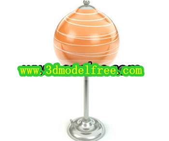 Forme Lollipop Lampe de table mod¨¨le 3D