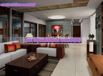 La brique chinoise moderne chambre mod le 3d de salon for Chambre chinoise