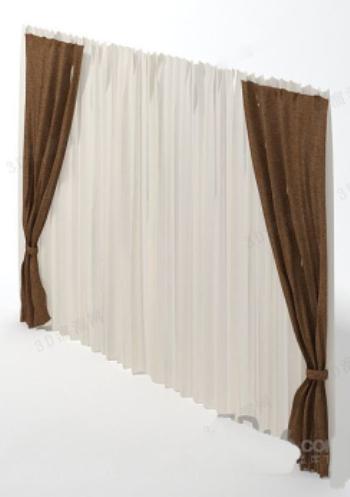 rideau mod le 3d model download free 3d models download. Black Bedroom Furniture Sets. Home Design Ideas