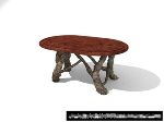 Sculptures table basse mod¨¨le 3D