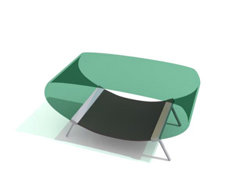 Verre moderne Coffee Table