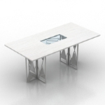 mod¨¨le de table blanc