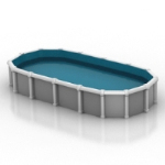 mod¨¨le simple de piscines priv¨¦es
