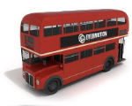 Mod¨¨le 3D de rouge double-decker bus