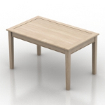 Simple mod¨¨le de table en bois