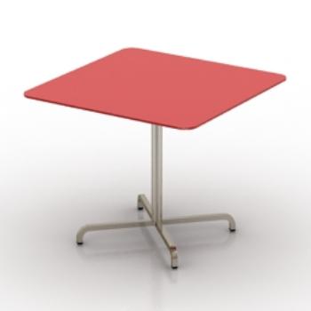 Textur 168 166 rouge mod 168 168 le de table 3d model download free 3d