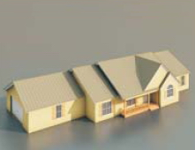 Logements / Architectural Model-4