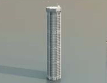 1 Skyscrapers / Architectural Model-13