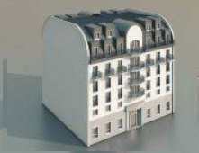 Pr¨¨s de Continental / Architectural Model-20