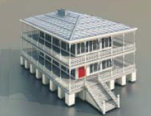 Multi-Logement / Architectural Model-30