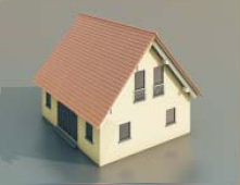 4 simples maisons / Architectural Model-38