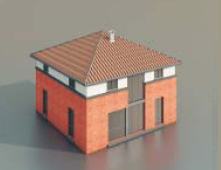 simple maisons / Architectural Model-40