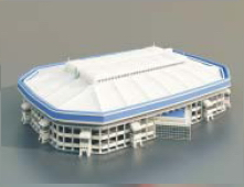 Stade / Architectural Model-52