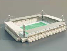 Stade / Architectural Model-53