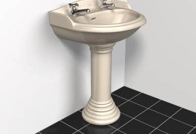 Fournitures salle de bain wc et cuve de lavage 3d model for Fourniture salle de bain