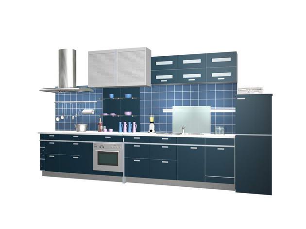 Construit dans les cuisines 3d model download free 3d models download for Cuisine 3d sans telechargement