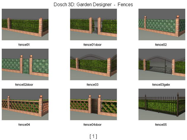 Les Clotures Murs Jardins 3D Model DownloadFree 3D
