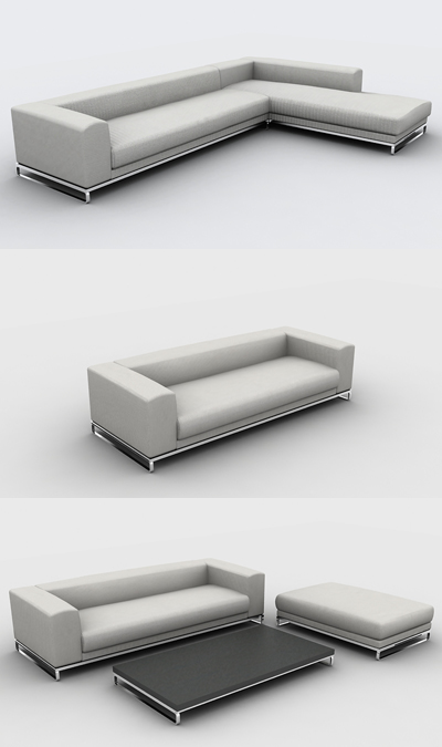 Mobilier sas 34 3 3d model download free 3d models download for Muebles oficina 3ds max