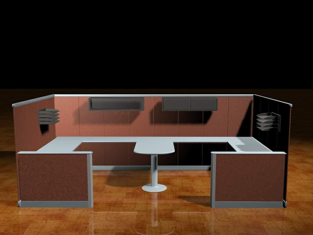 Mobilier de bureau 004 office portefeuille 59 3d model for Mobilier bureau 51