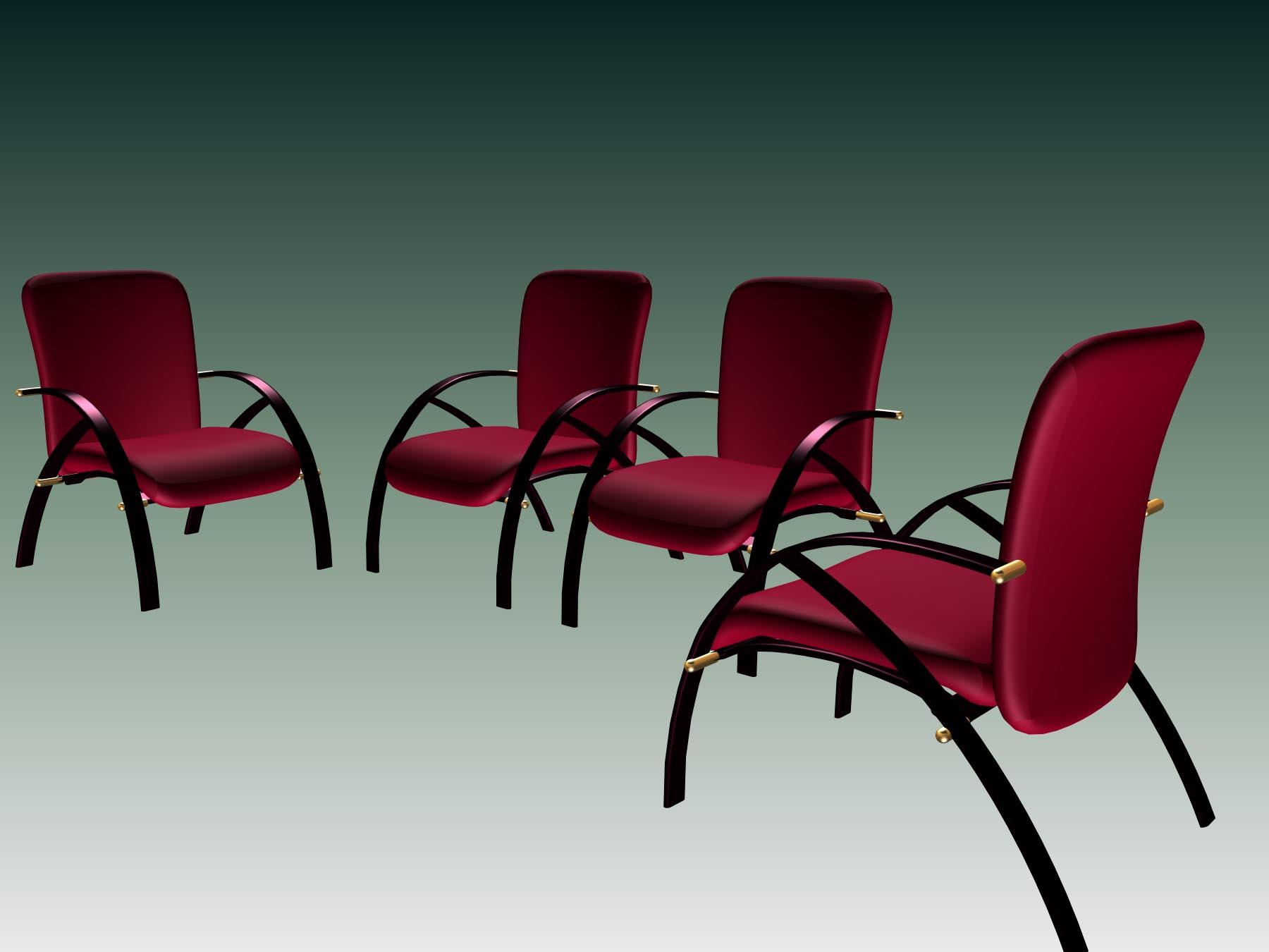 mobilier de bureau 003 24 3d model download free 3d. Black Bedroom Furniture Sets. Home Design Ideas