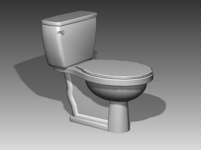Salle de bains wc 011 3d model download free 3d models download - Wc model ...