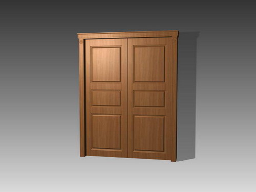Porte 002 portes 103 3d model download free 3d models for Porte 3d dwg