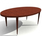 3d model library / Continental table (68)