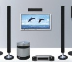 Home Theater mod¨¨le 3D
