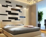 Modern bedroom mod¨¨le 3D (Han Guang Area Network, mappage de texture)