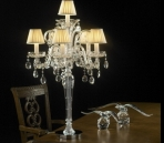 Crystal lampe de table mod¨¨le 01