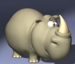 Cartoon mod¨¨le de Rhino 3D