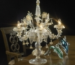 Crystal lampe de table mod¨¨le 08